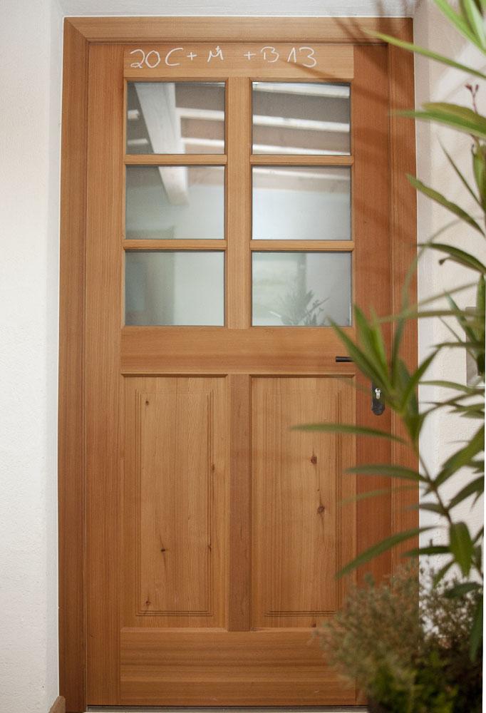 Holztüren  Innen- und Außentüren - Schreinerei Franz Lex